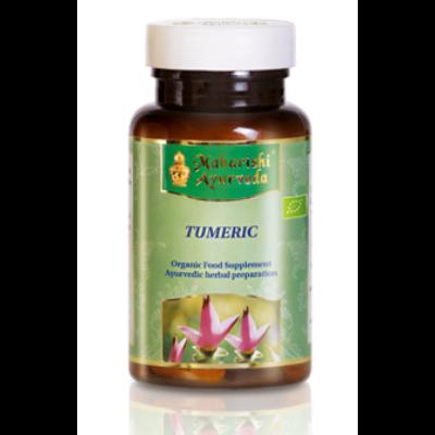 Kurkuma ájurvédikus gyógynövény készítmény, organikus, 36 g/ 60 caps