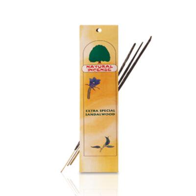 Természetes szantál füstölő, 12 doboz / csomag (12x10 gram)